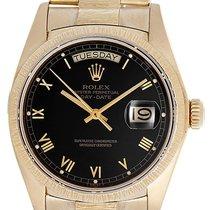 Rolex President Day-Date Custom Bark Finish 18k Gold Men's...