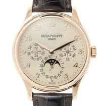Patek Philippe Complications 18k Rose Gold Beige Automatic...