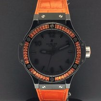 Hublot Big Bang Tutti Frutti Orange 38mm Black Ceramic Case...