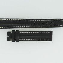 Breitling Kalbslederband 16/14 Länge 110/70 Schwarz