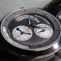 Jaeger-LeCoultre Master Geographic in white gold. 142.3.92