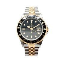 ロレックス (Rolex) Mens Two Tone 18KY/SS Rolex GMT-Master II Watch...