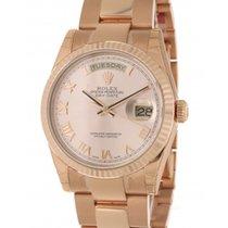 Rolex Day Date 118235 In Rose Gold, 36 Mm