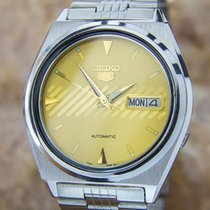 Seiko 5 Vintage 7009-876a Automatic Men's Ss Watch Made In...