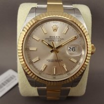 Rolex datejust steel/gold 126333 / 41mm