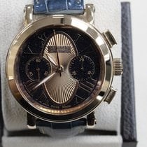Tourneau Gotham 18K Rose Gold Limited Edition Blue & Rose...