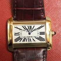 Cartier Tank Divan Gold