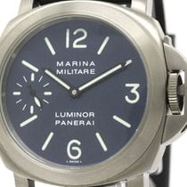 Panerai Rare  Luminor Marina Militare Amerigo Vespucci Watch...