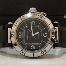 Cartier Pasha Seatimer Automatic Steel & Rubber 40.5mm