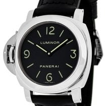 Πανερέ (Panerai) PAM00219 Luminor Base Black Dial Mechanical...