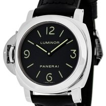 Panerai PAM00219 Luminor Base Black Dial Mechanical Men's...
