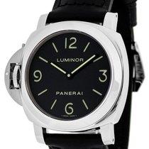 Panerai PAM00219 Luminor Base Black Dial Mechanical Men's...