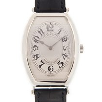 百達翡麗 (Patek Philippe) Gondolo White Gold Silver Manual Wind...