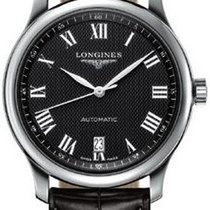 Longines Master Collection Black Dial 38.5mm Automatic Mens Watch