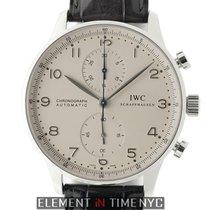 IWC Portuguese Collection Portuguese Chronograph 18k White...