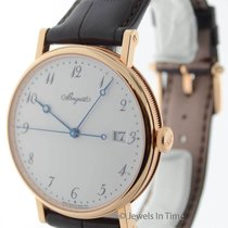 Breguet Classique Automatic 5177 18K Rose Gold Mens Watch...