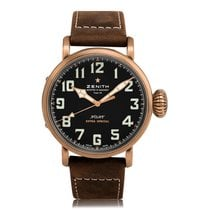 Zenith Pilot Type 20 Extra Special Automatic Bronze Mens Watch...