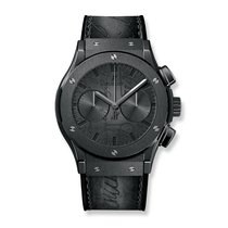 Hublot Classic Fusion Chronograph Berluti Scritto All Black...