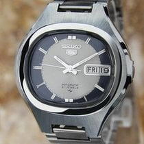 Seiko 5 Automatic Day Date Men's Pristine Made In Japan...