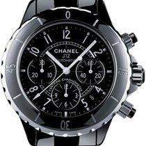 Chanel J12 Chronographe Black Ceramic and Steel