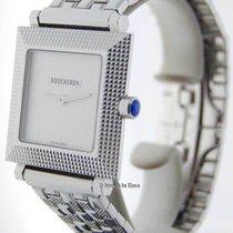 Boucheron Classique 30mm Square 18K White Gold Watch