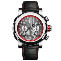 Romain Jerome Steampunk Chrono Red 50mm Stainless Steel