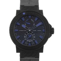 Ulysse Nardin Marine 46 Black Sea Blue Index