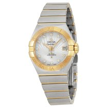 Omega 12320272055002 Constellation Diamond Pearl Ladies