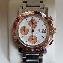 Girard Perregaux Chronograph SS/18K Gold GP 7000