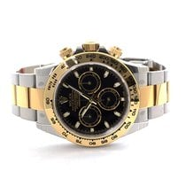 Rolex DAYTONA ACC ORO BLACK DIAL NEW REFERENCE