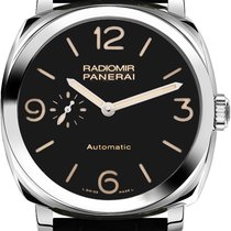 Panerai Radiomir 1940 Stainless Steel Leather Men's Watch