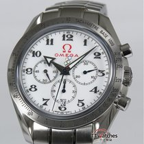 Omega Speedmaster Broad Arrow Olympic Collection Box Papers