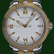 Μπλανπέν (Blancpain) Leman 38mm Automatic Date 18k Gold Steel