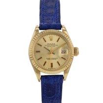 Rolex Oyster Perpetual Date en or jaune Ref : 6917 Vers 1976