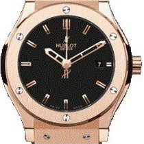 Hublot 511.PX.1180.RX Classic Fusion - Rose Gold on Rubber...