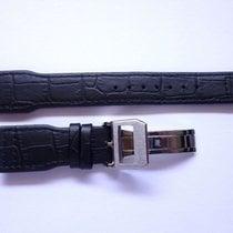 bodhy Leather strap in 22mm - Black in 22/18mm - Pilot Flieger...