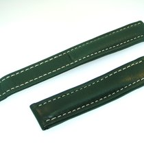 Breitling Band 18mm Green Verde Calf Strap B18-19