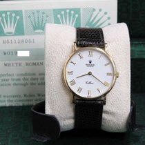 Rolex Cellini 5112 Classic White Dial 18K Yellow Gold 32MM