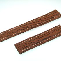 Breitling Band 18mm Brown Shark Strap Correa B18-11