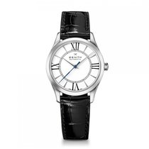 Zenith Elite Automatic Stainless Steel White Dial Ladies Watch...