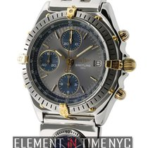 Breitling Chronomat Steel & Yellow Gold 41mm UTC Grey Dial