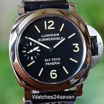 Panerai Pre Vendom 5218-205A Slytech Submersible Black Dial 44mm