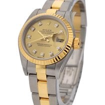 Rolex Used 791713_used_champ_diamond_dial 2-Tone 26mm Datejust...