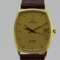 Omega De Ville Quartz 18k Gold Men