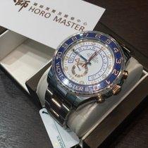 Rolex Horomaster-116681 YACHT MASTER II STEEL EVEROSE GOLD