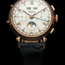 VETTA DATOCOMPAX  CHRONOGRAPH MOONPHASE VALJOUX 88 18K ROSE GOLD