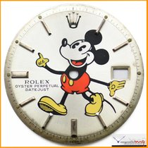 Rolex Dial  Datejust Pie-Pan Mickey Mouse Ref 1601 Stock...