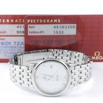 Omega De Ville Quarz Stahlband Omega Pictogram + Zertifikat