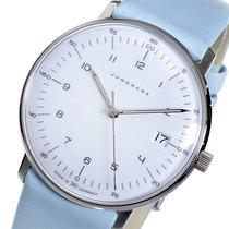 Junghans マックスビル クオーツ レディース 腕時計 047425400 ホワイト