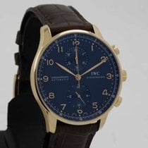 IWC Portuguese Chronograph 18k pink gold - serviced IW3714-15